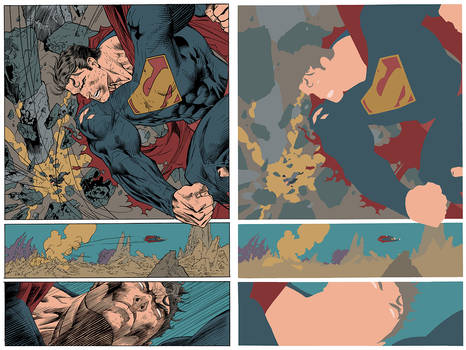 Jim Lee Superman Flats