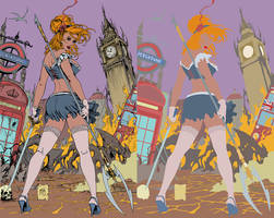 cinderella age of darkness FLATS by jotazombie