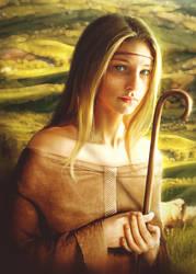 Shepherdess / One Wish by push-pulse
