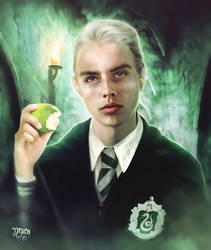 Draco Malfoy. ANIMATION by push-pulse