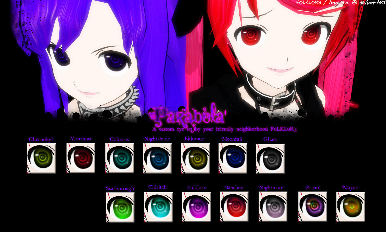 MMD Download: 'Parabola' Eyes by F0LKL0R3