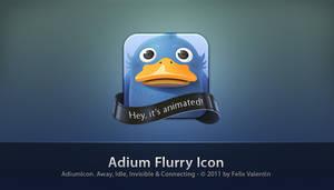 Adium Flurry Icon