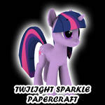Twilight Sparkle papercraft
