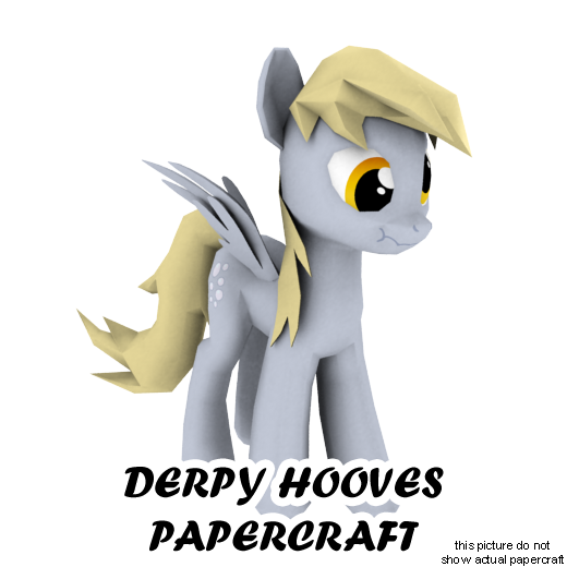 Derpy Hooves papercraft