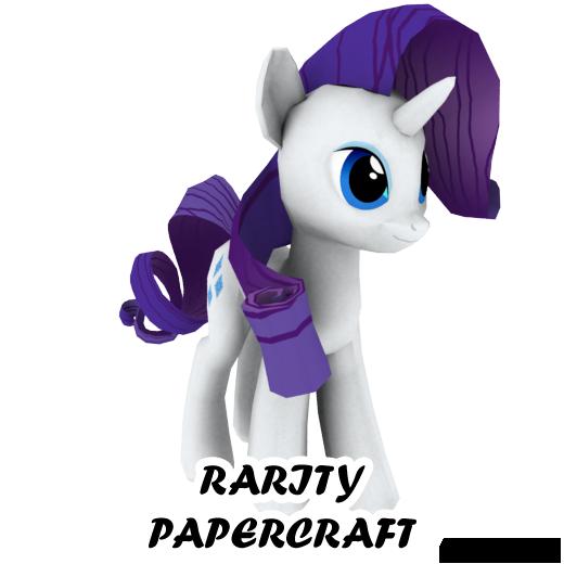 Rarity papercraft