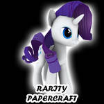Rarity papercraft