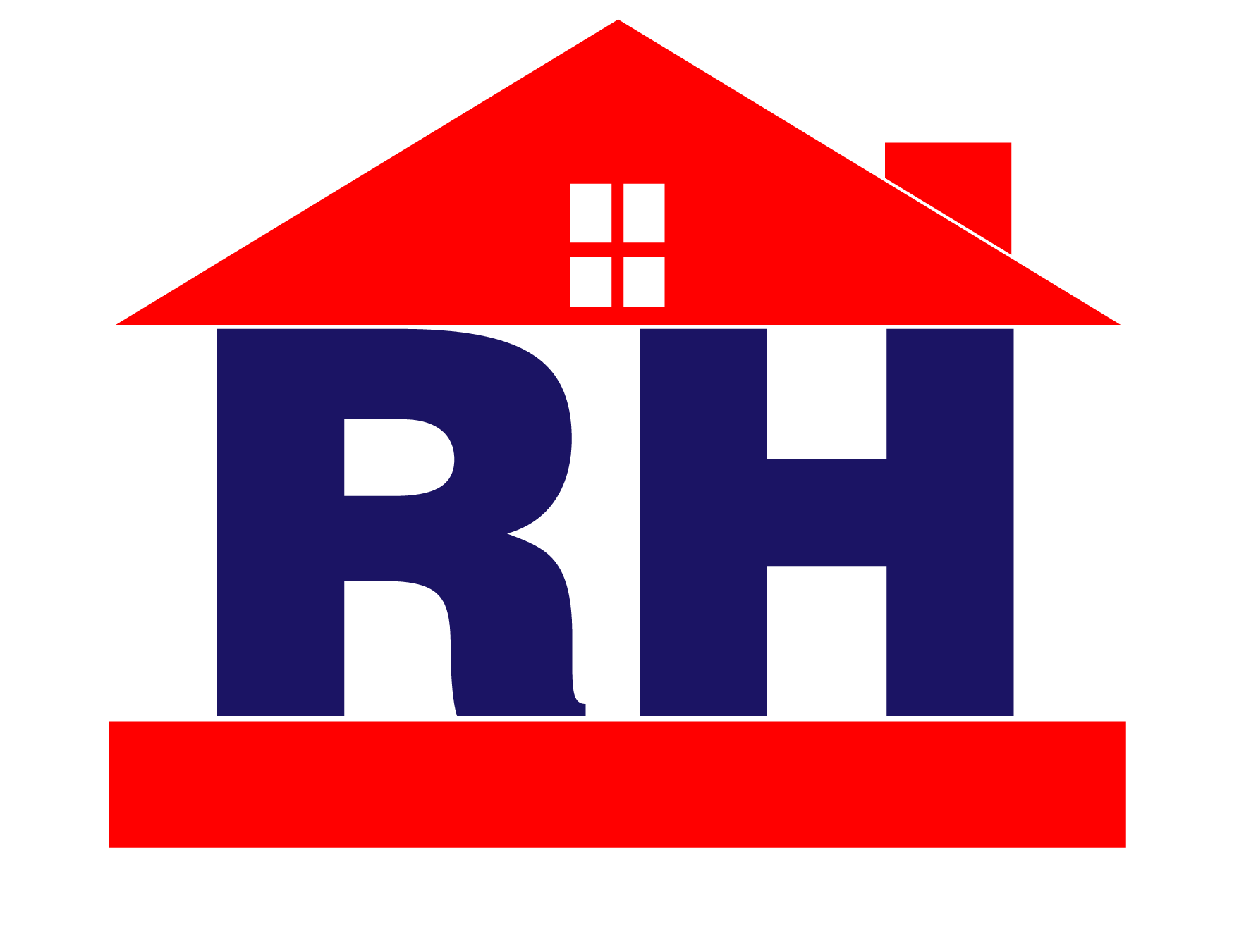 Red house logo design practice by deptirado on deviantart for Best house logo design