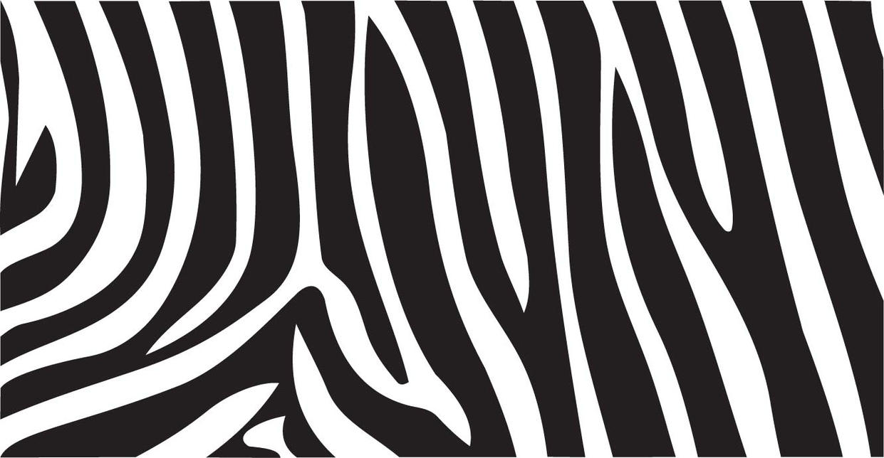 zebra print vector by inferlogic on deviantart rh inferlogic deviantart com zebra print vector art Zebra Print Border