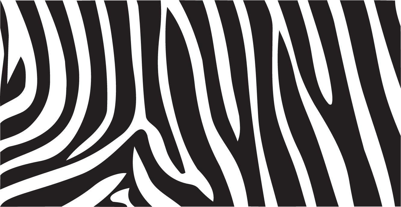 Zebra pattern vector - photo#21