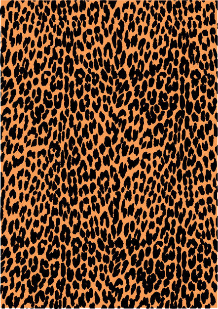 Leopard Print Vector 2 by