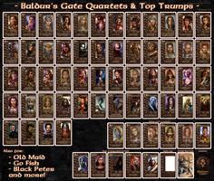 Baldur's Gate Quartets and Top Trumps v3.1