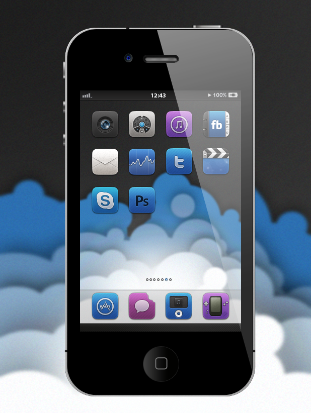 Cloud for iPhone by BomBerOne666