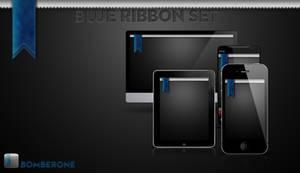 Blue Ribbon Set by BomBerOne666