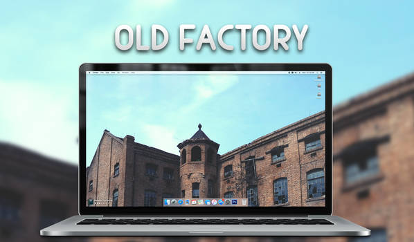 Old Factory Wallpaper