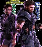 Resident Evil 5 - Sheva and Chris Render