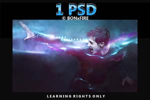 PSD jake gyllenhaal signature by BONxFIRE