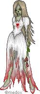 Zombie Bride by Medox-Pixelated