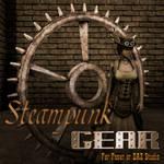 Steampunk Gear for Poser