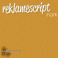 ReclameScriptFont' by letsgetcrazier