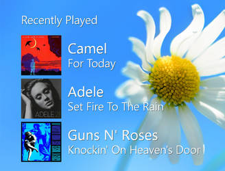 Recently Played (NowPlaying History for Rainmeter)