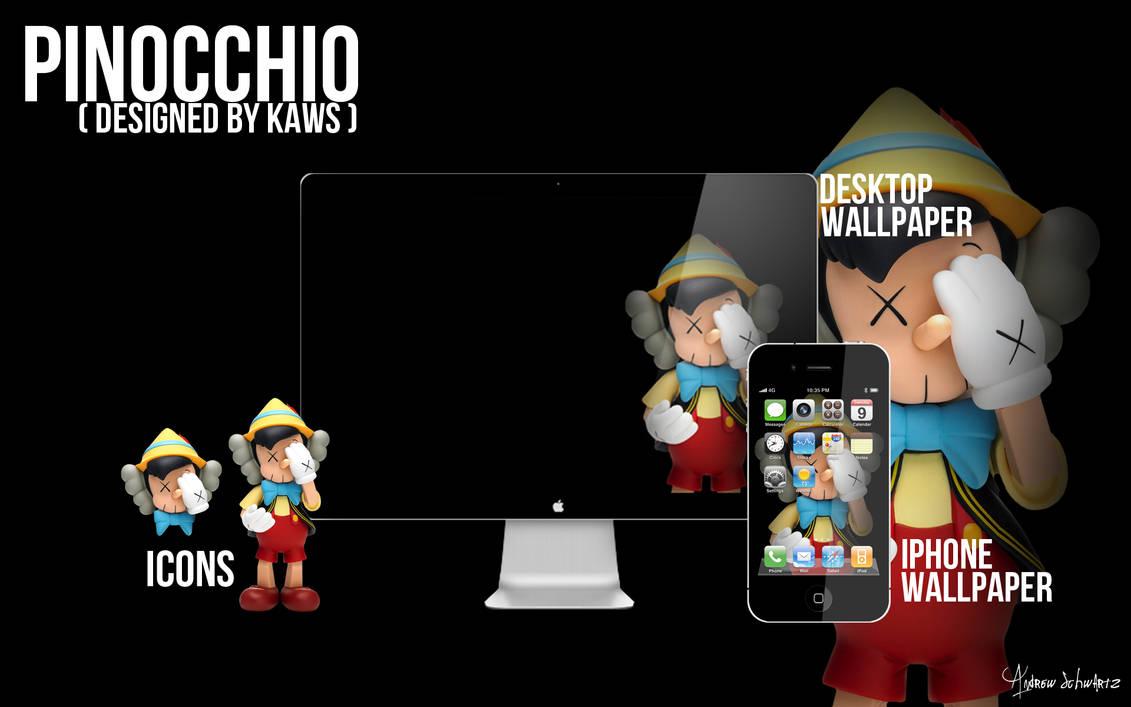 Kaws Pinocchio Wallpaper And Icons By Acvschwartz On Deviantart