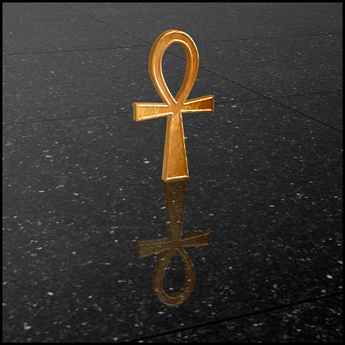 Ankh Cross by DecanAndersen