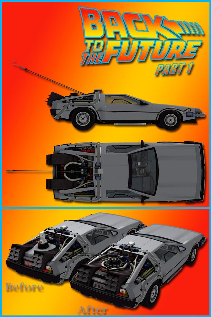 BTTF DeLorean Part 1 Edition by DecanAndersen