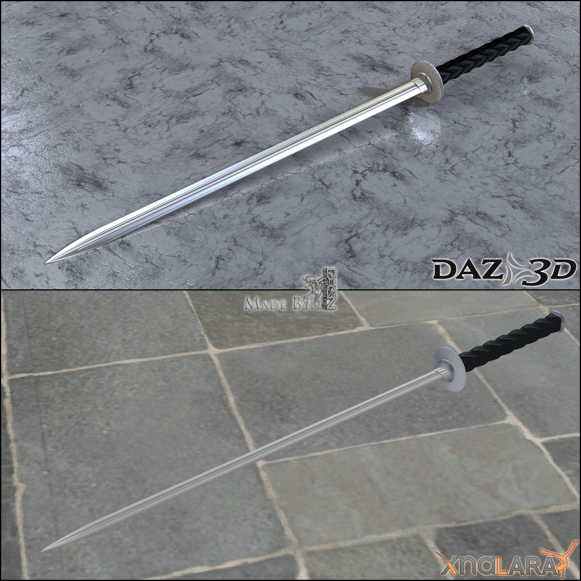 Free 3D Model - Concept Sword by DecanAndersen