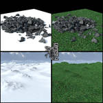 Free one click infinite grass shader for Daz3D 4.5