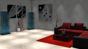 Indoor Spotlight Illumination For Daz3D