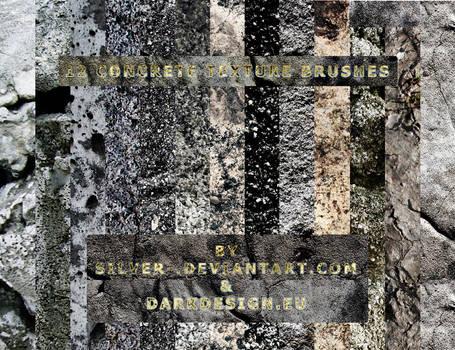 Concrete Texture Brushes