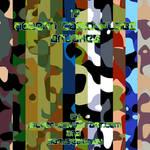 Modern Camouflage Brushes