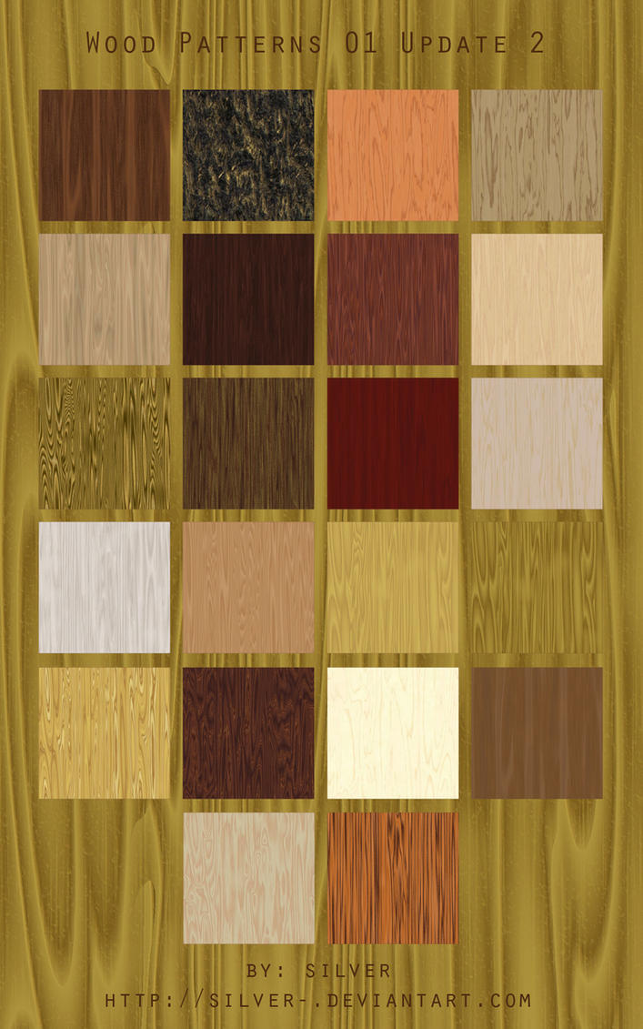 Wood Texture Patterns by silver-