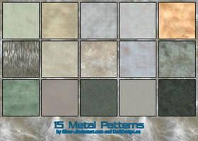 Metal Patterns B by silver-