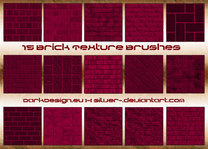 Brick Texture Brushes By Silver On Deviantart
