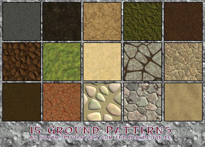 Ground Texture Patterns