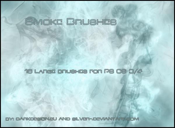 12 Free Photoshop Smoke Brush Packs