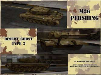 M26Pershing Desert Ghost Type2