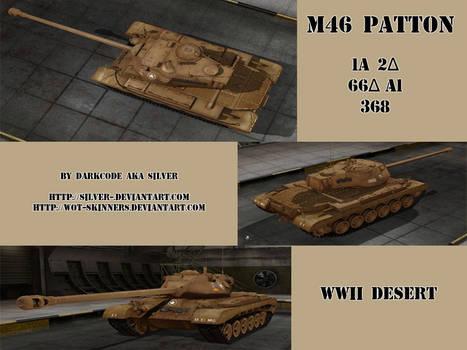 M46 Patton WWII Desert
