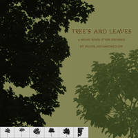 Tree's and Leaves Brushes by silver-