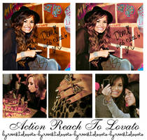 Action Reach To Lovato by ReachToLovato