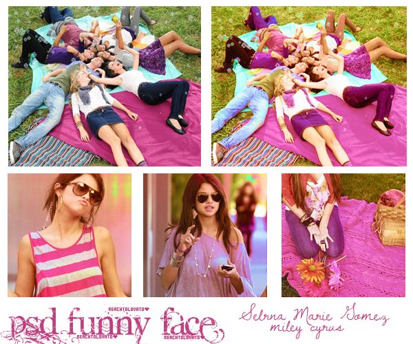 PSD.Funny Face by ReachToLovato