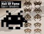 Hall of fame - Space Invaders