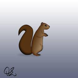 Squirrel animation
