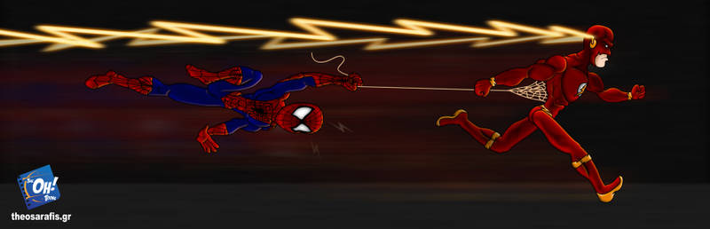 Flash-vs-Spiderman
