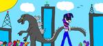 Tokyo Friendship Playfight! by Devon13168