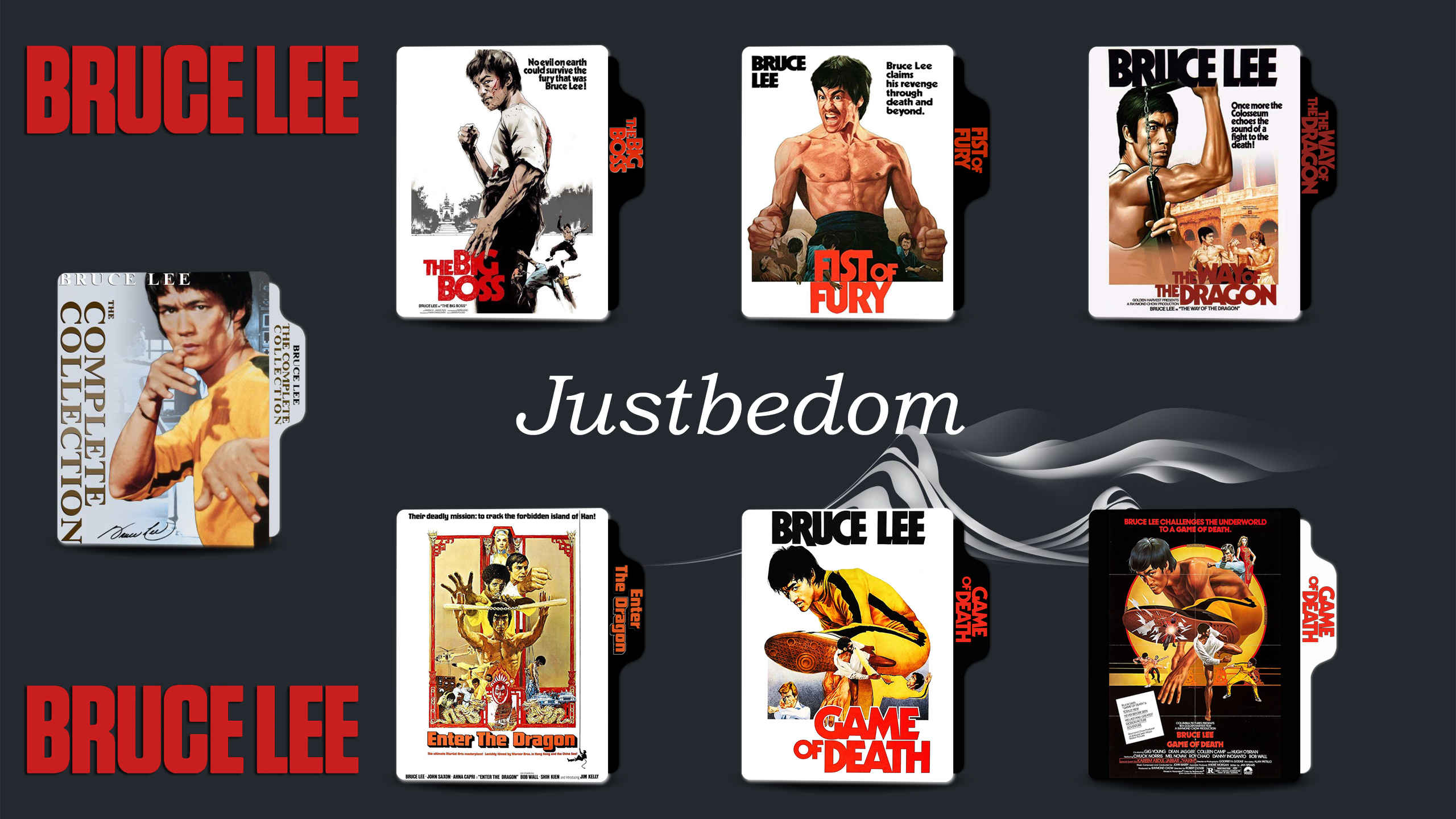 Bruce Lee Collection By Justbedom On Deviantart
