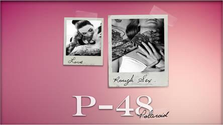 P-48 Polaroid. [Rainmeter Skin] by jlynnxx