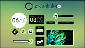 Chocolate Suite 1.0 [Rainmeter Skin]