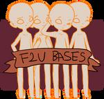 Four F2U Sketchy bases